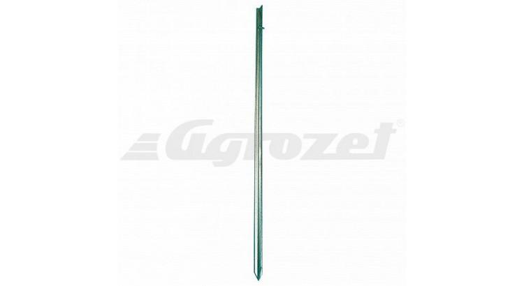 Zemnící tyč pro elektrické ohradníky - pozinkovaná 1 m