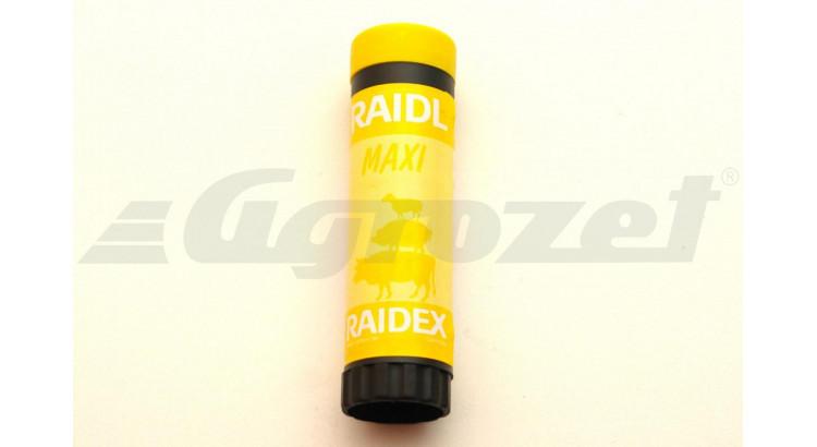 RAIDEX 20601 Značkovač pro dobytek žlutý v plastu