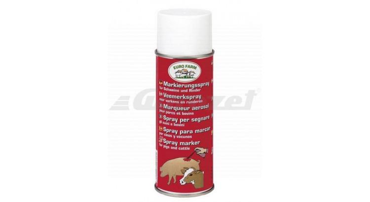 Euro Farm 20156 TopMarker Spray na značení 500 ml červený