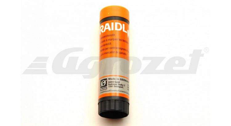 RAIDEX 20600 Značkovač pro dobytek oranžová v plastu