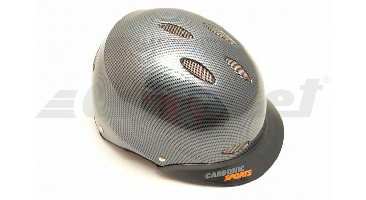 Carbonic Sports 321221 Jezdecká helma vel. 55/56