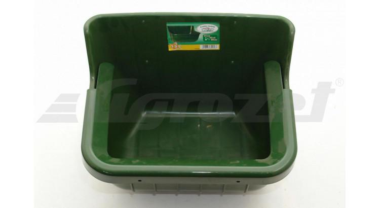 EUROFARM 32582 Plastový žlab pro koně zelený 15 l