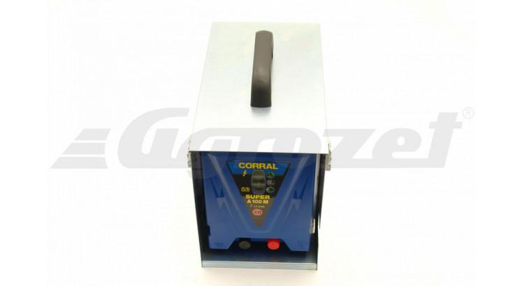 Corral A100 M Ohradníkový zdroj včetně boxu