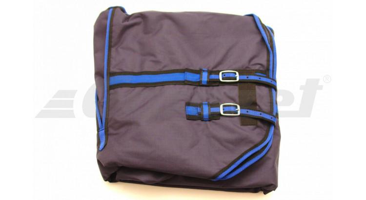 Nylon-Ribstop 327576 Deka pro koně námořní modrá 135 cm