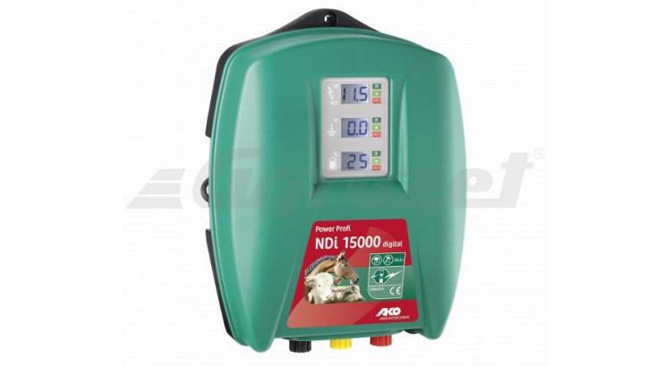 PowerProfi NDi 15000 Elektrický ohradník síťový digital s automatickou regulací