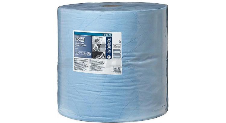Utěrka průmyslová modrá 430 (37x34cm, 1000útržků)
