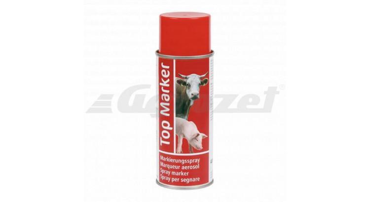 TOP MARKER 3846 Barva značkovací ve spreji EURO červená 500ml