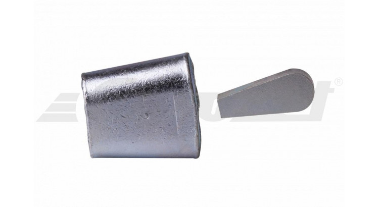 Koncovka lana - ocelová 14 mm