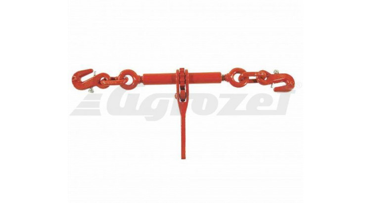 Ráčnový napínák se 2 háky pro řetěz 8 mm