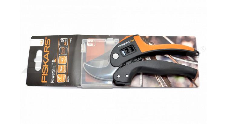 FISKARS 1000575 POWERSTEP Nůžky ruční s převodem
