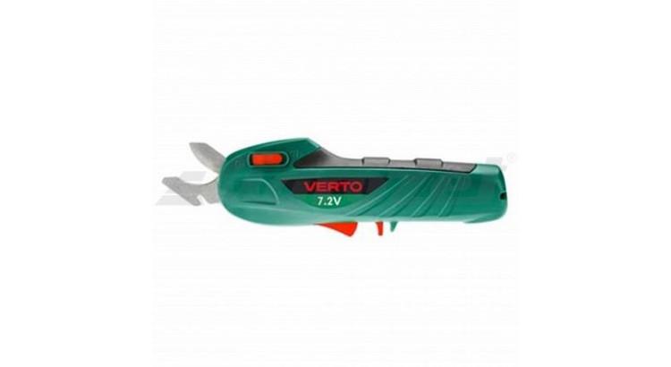 VERTO 52G300 AKU zahradnické nůžky 7,2V