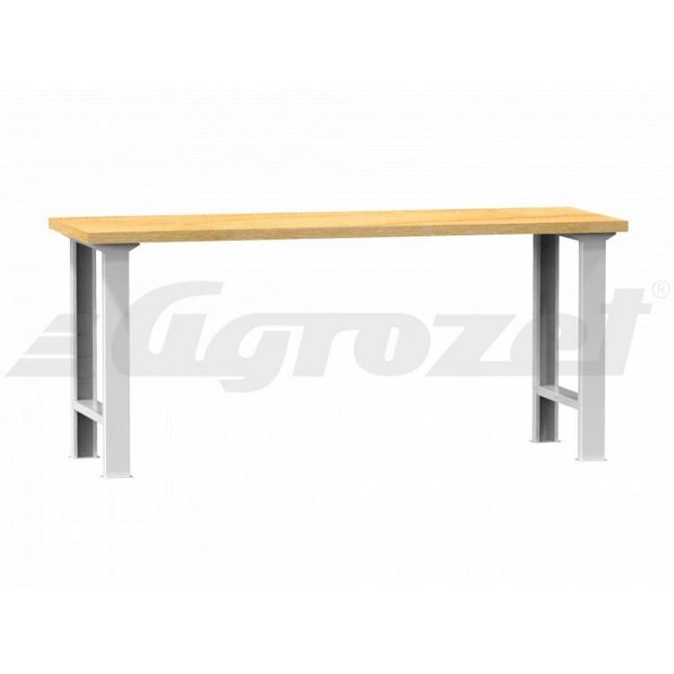 Stůl pracovní 1500x800x40 buk - nosnost 800kg
