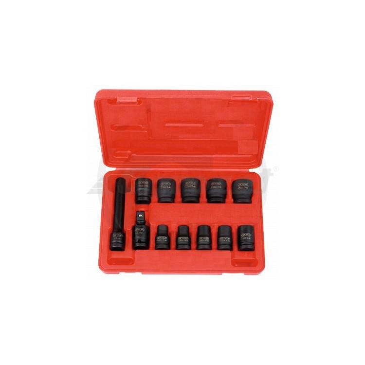 """KS Tools 1/2"""" 12 dílná sada šestihranných nástrčných ořechů"""