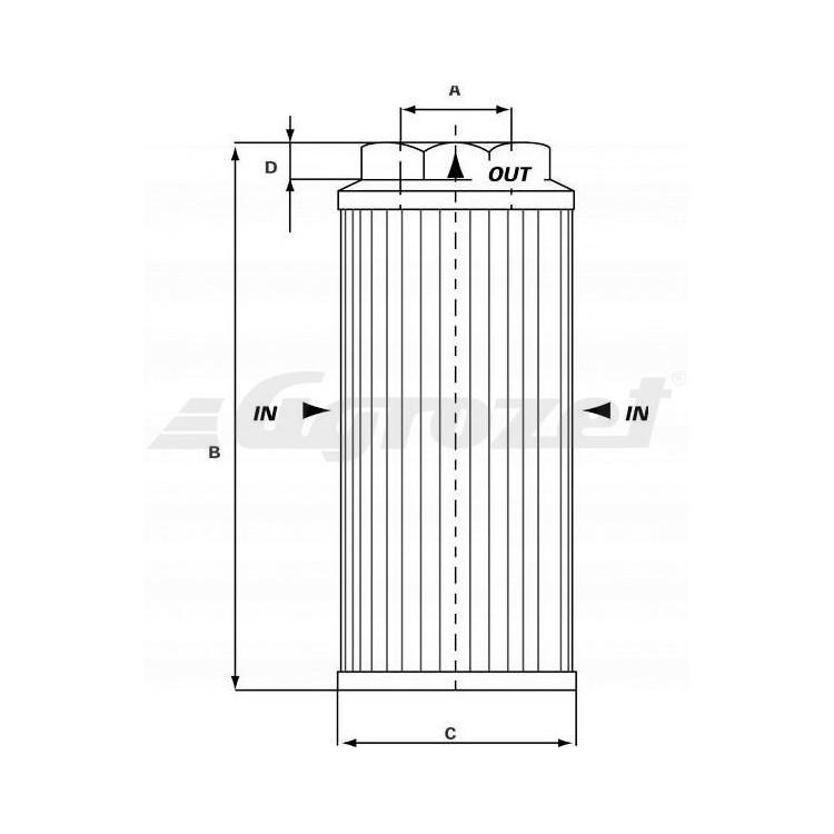Hydraulický filtr MP-Filtri