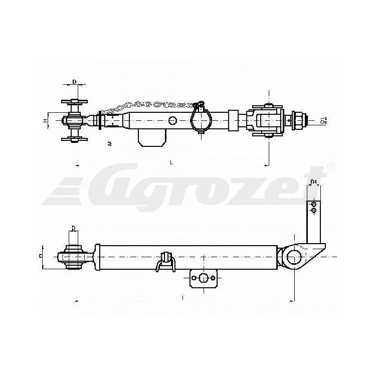 Stabilizátor CBM - L=375-520mm