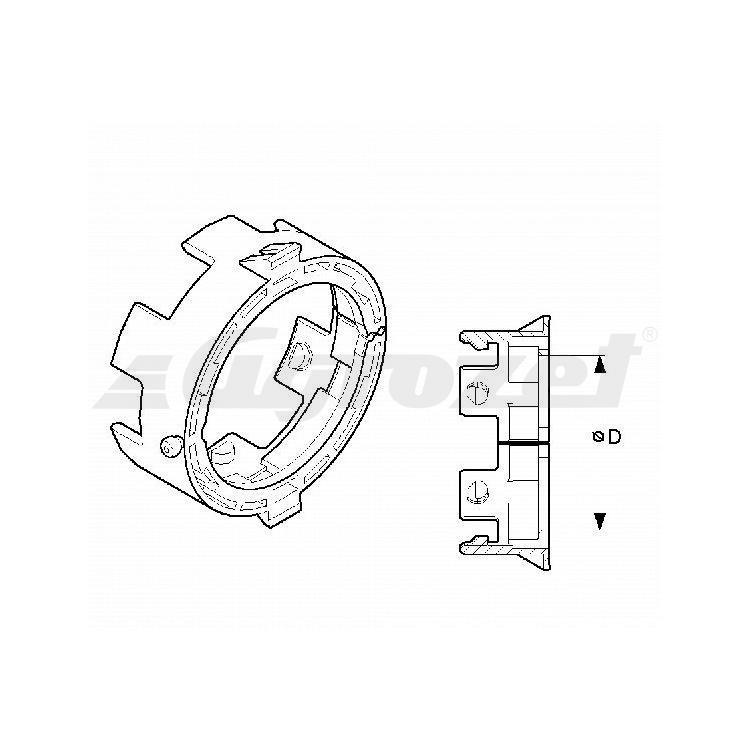 Kroužek trychtýře vnější T50