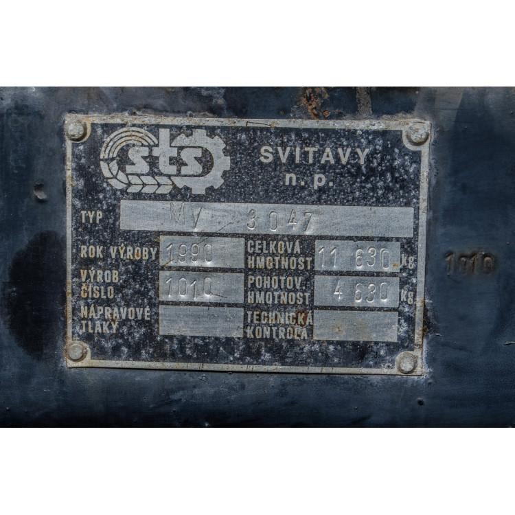 Sběrací vůz STS MV 3047