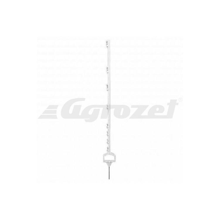 Tyčka pro elektrický ohradník WZ 3000/110 plast bílý, 110 cm