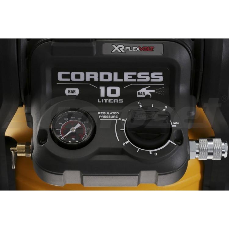DEWALT DCC1054N Aku kompresor (bez aku) 10L 54V FLEXVOLT