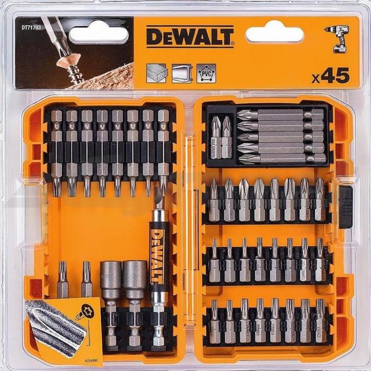 DEWALT DT71703-QZ Sada bitů 45dílů