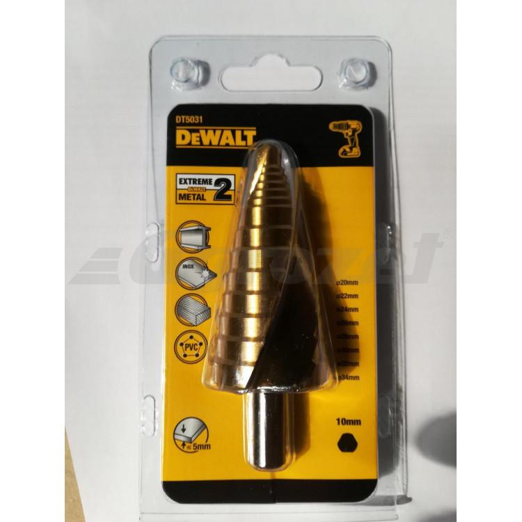 DEWALT DT5031 Stupňovitý vrták do kovu 20 - 34 mm