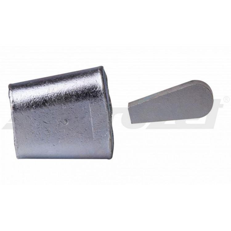 Koncovka lana - ocelová do 10mm