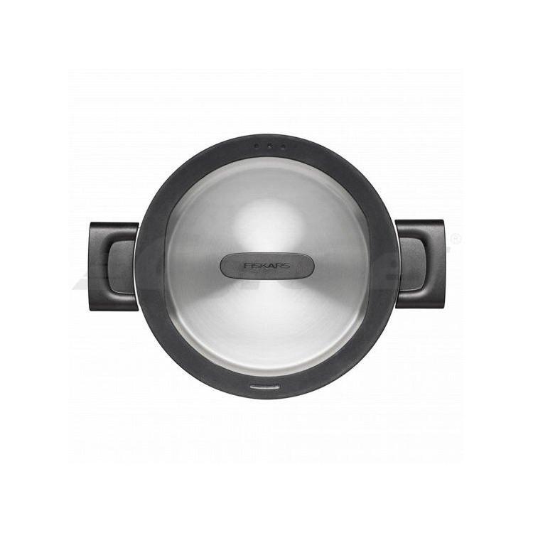 FISKARS Hrnec 20cm s pokličkou 3,5l nerez