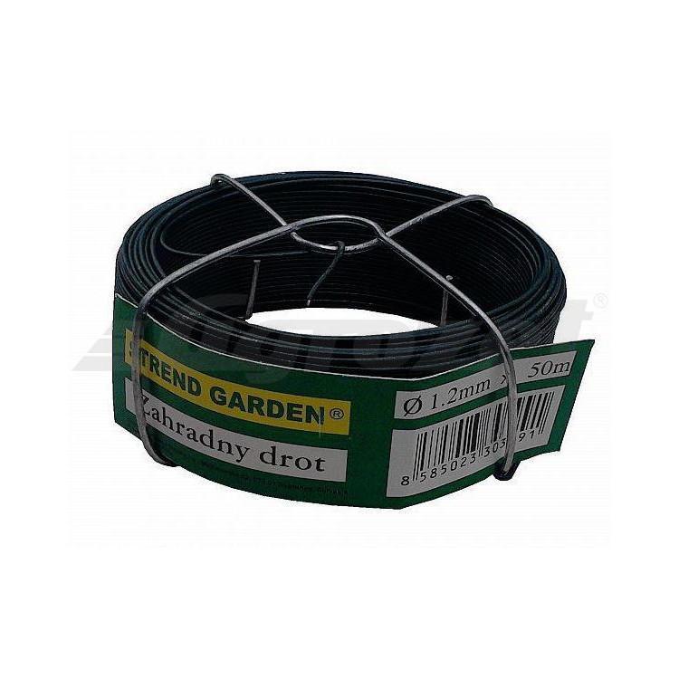 Drát vázací PVC 1,2/50 m zelený