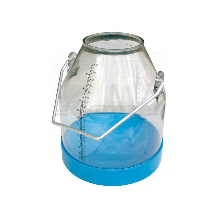 Konev plastová 30 litrů modrá