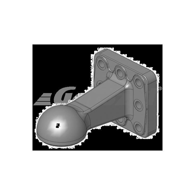 Hlava závěsná K80 130x130