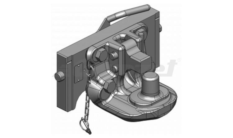 Závěs posuvný Piton-fix - 333/38/25, H=160mm - Orlandi