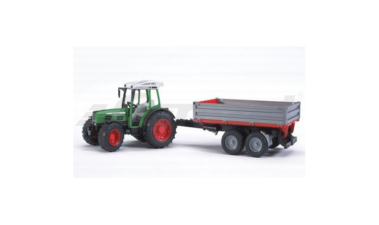 Traktor Fendt Farmer se sklápěcím vozem Bruder 02104