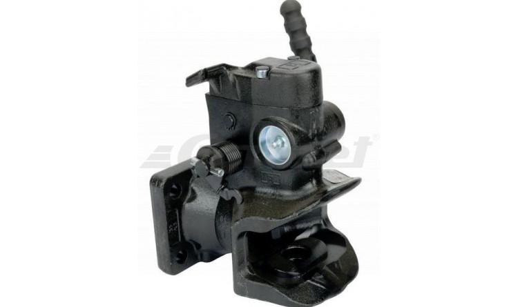 Závěs automatický s přírubou 140x80/17mm, čep pr. 30mm