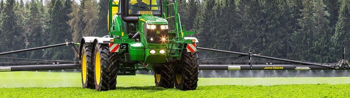 Nový model postřikovače R4050i si odbyl během evropské PowrSpray Tour 2017 premiéru na českých polích.