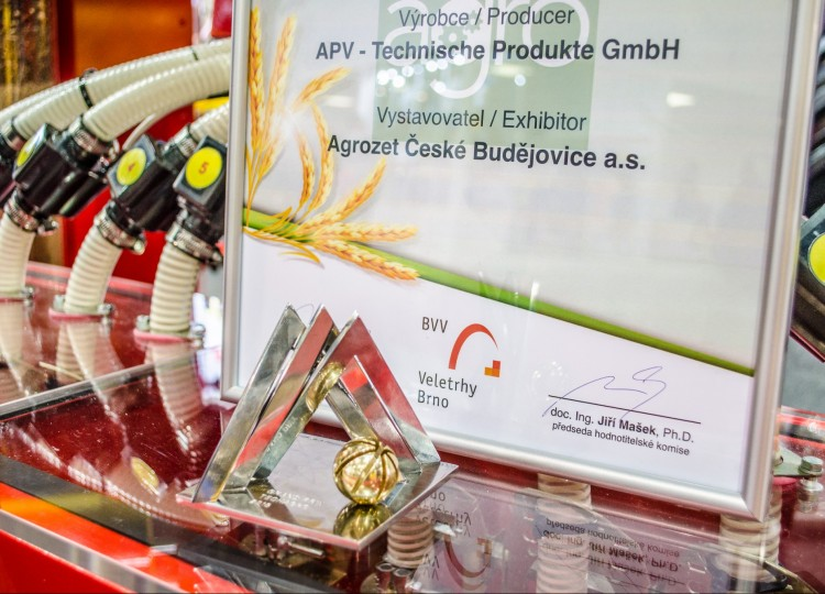 PS 300 M1 D TWIN jako vítěz Grand Prix Techagro 2018.