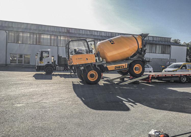 Mixy na beton Dieci F 7000