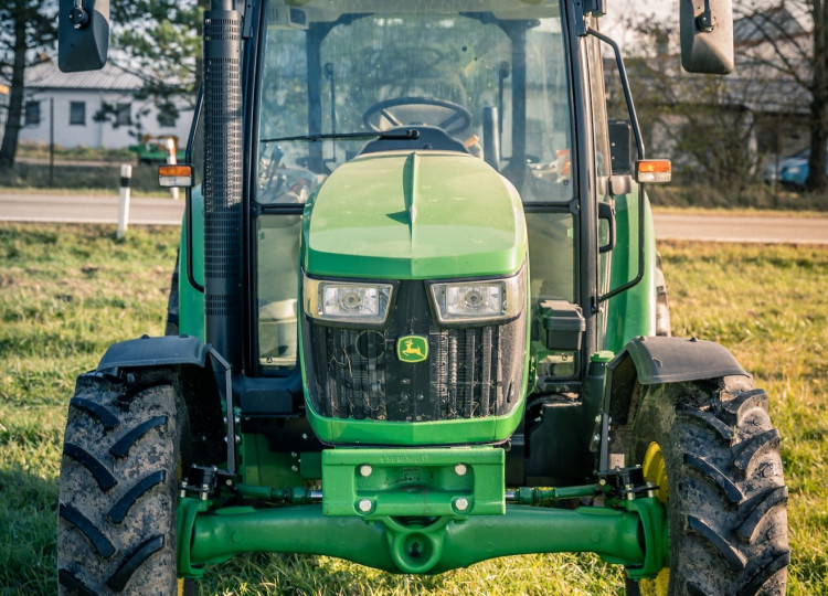 První John Deere na farmě Eko Farm Lipno